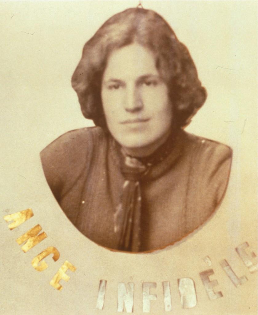Ange Infidelè, 1968. Fotografia, 67 x 57 cm. Collezione di Maria Rosa e Gilberto Sandretto