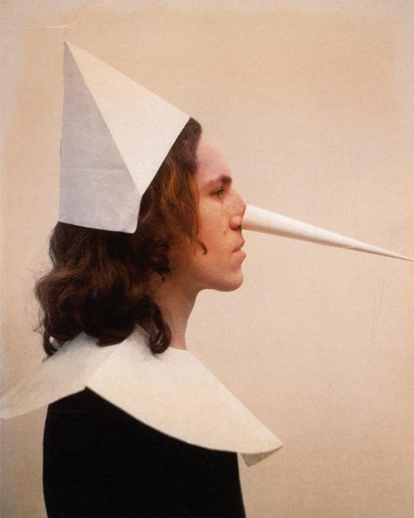 Pinocchio, 1972. Fotografia, 85 x 67 cm. Collezione Fabio Sargentini, Roma
