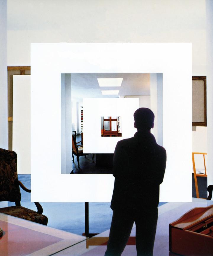 Immagine di copertina di Quattro passi / Nel museo senza muse (dettaglio), Einaudi editore, Torino 2006.