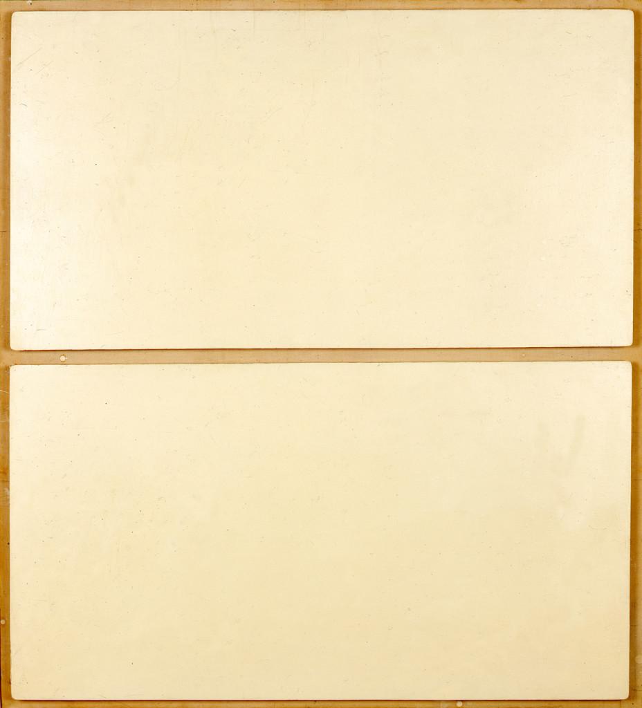 Schermi in legni bianchi (1959).