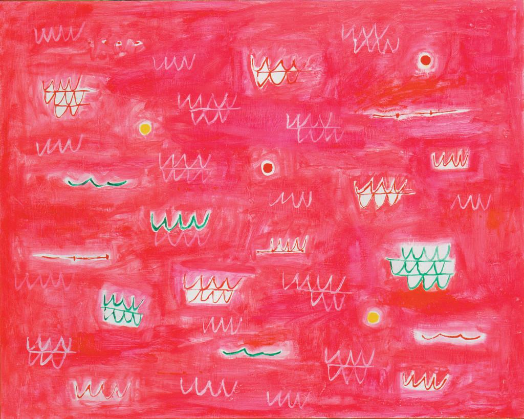 Musica del mare, elegia rosa (1991). Courtesy Cardi, Milano.