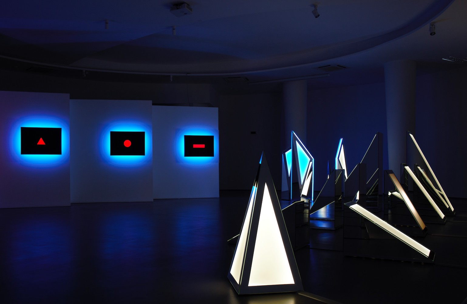 "Museo di Arte Contemporanea di Termoli: ""Nanda Vigo. Light Project 2020"" 